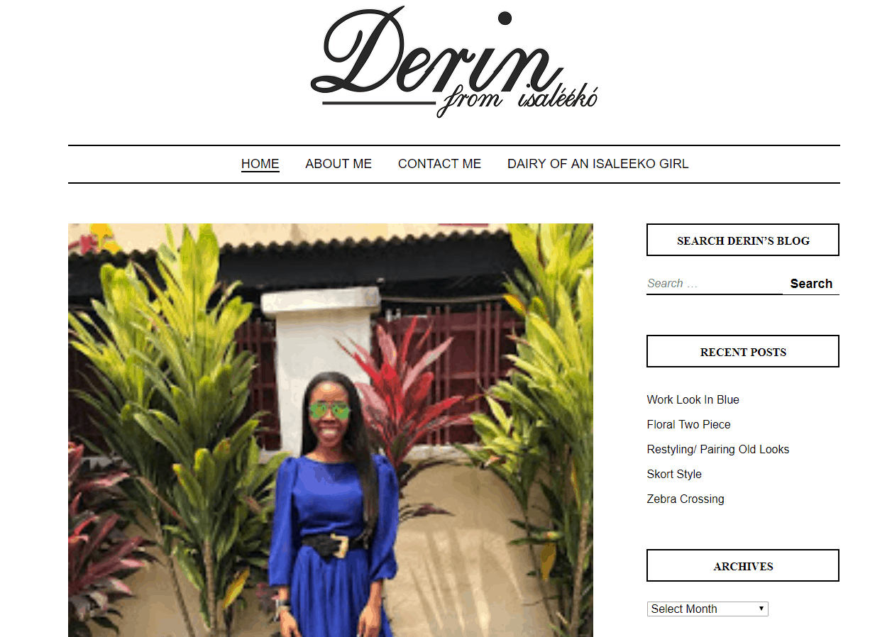 Derin From Isaleeko – Personal Style Blog of Derin from Isaleeko