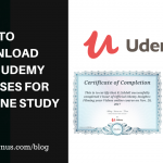 How to Download Your Udemy Courses for Offline Study