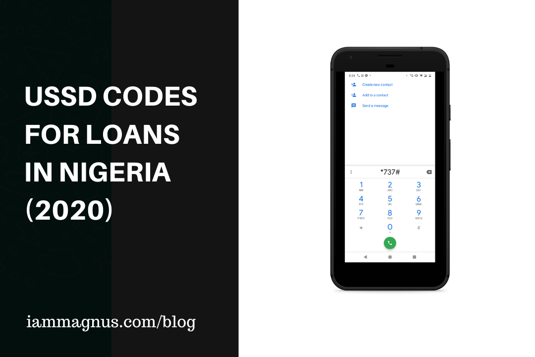 USSD Codes for Loans in Nigeria (2020)