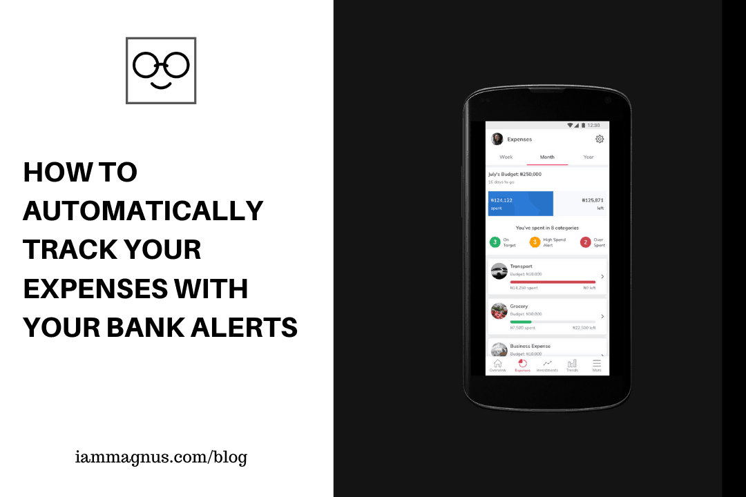 REACH: Automatically Tracks Your Expenses With Your Bank Alerts