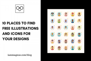 10 Places to Find Free Illustrations and Icons for Designs