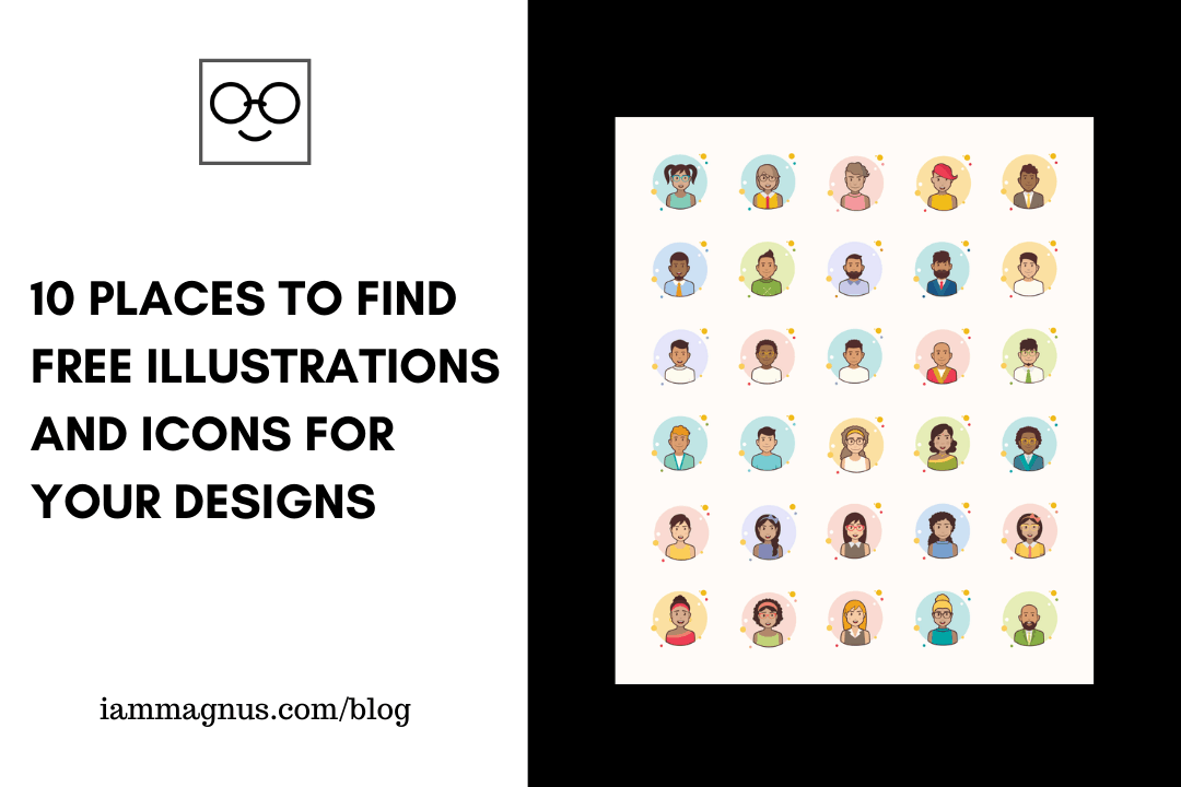 10 Places to Find Free Illustrations and Icons for Your Next Designs