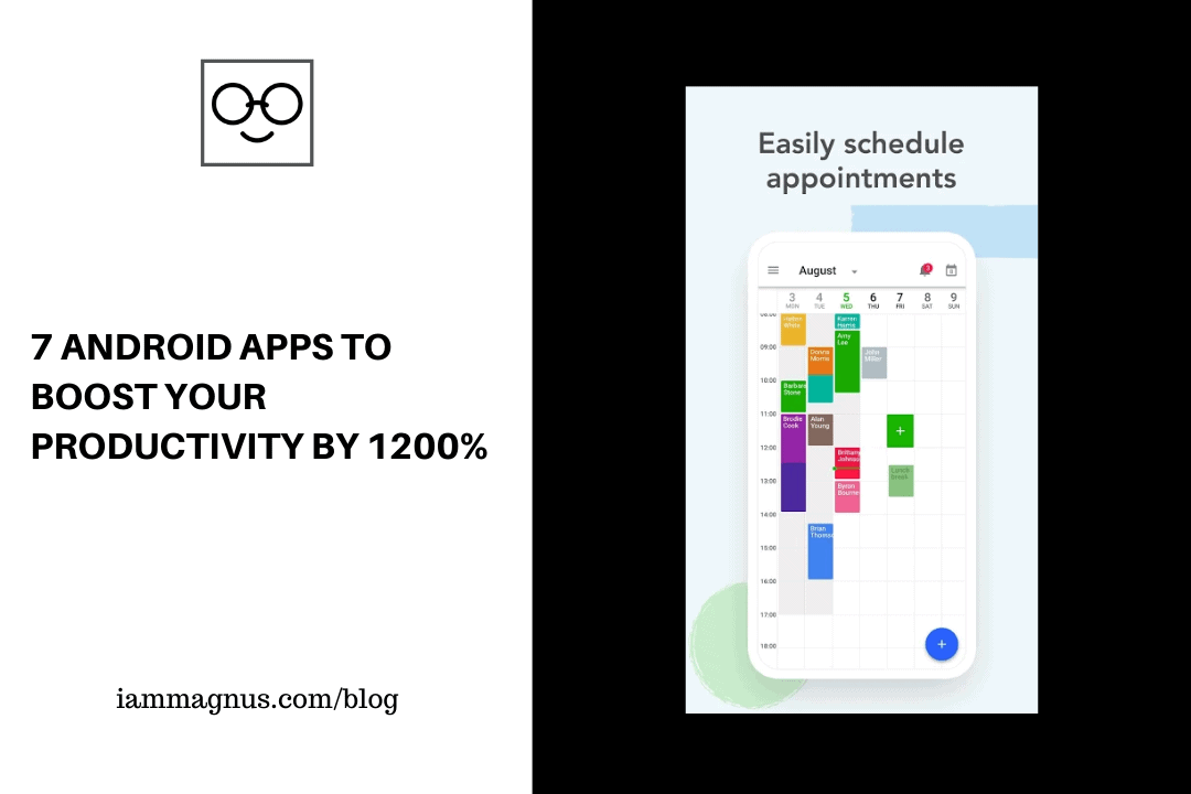 7 Android Apps to Boost Your Productivity By 1200%