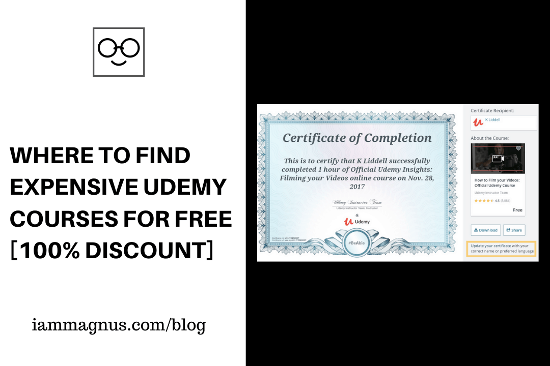 5 Places to Find Expensive Udemy Courses for FREE [100% Discount]