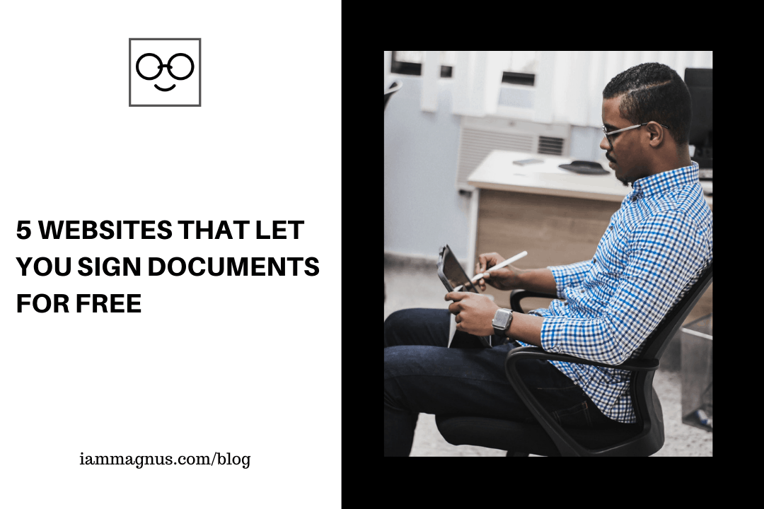 5 Websites That Let You Sign Documents For Free
