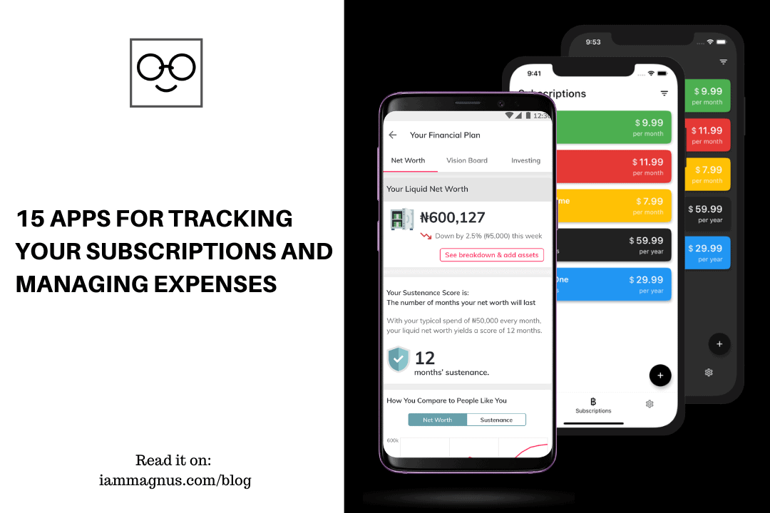15 Apps For Tracking Your Subscriptions And Managing Expenses