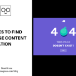 5 Places to Find 404 Page Content Inspiration