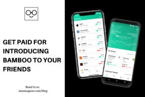 Get Paid For Introducing Bamboo to Your Friends
